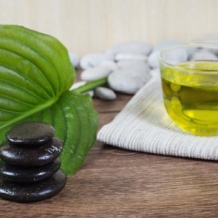 Zaļās tējas pīlings